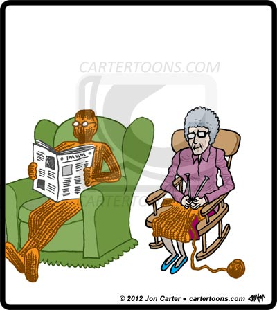Download Funny Knitting Cartoons Cartertoons